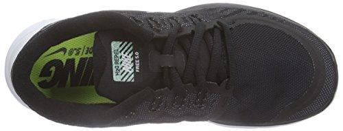Nike Free 5.0 Flash - Zapatillas de Entrenamiento Mujer Negro (Blk / Rflct Slvr-Cl Gry-Pr Pltnm)