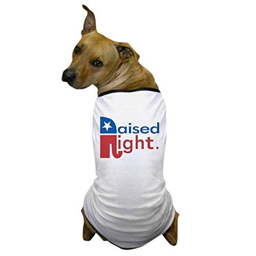 (CafePress - Raised Right - Dog T-Shirt, Pet Clothing, Funny Dog Costume)