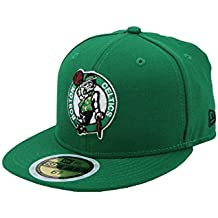 New Era 59Fifty Kid's Hat NBA Boston Celtics Classic Wool Green Fitted Headwear Cap