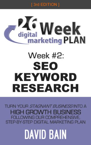 SEO KEYWORD RESEARCH: Week #2 of the 26-Week Digital Marketing Plan [Edition 3.0]