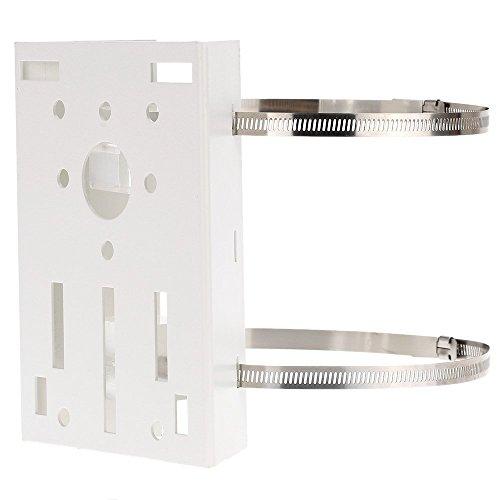 (SODIAL Metal Pole/Column Mount Loop Bracket 20CM PTZ Corner for CCTV Security Camera)