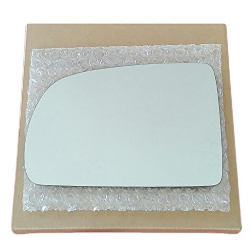 Mirror Glass and Adhesive | 1998 - 2003 Toyota Sienna Van Driver Left Side Replacement (Toyota Sienna Left Door Mirror)