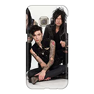High Quality Hard Cell-phone Case For Samsung Galaxy S6 (npI13530PgEe) Custom Attractive Black Veil Brides Band BVB Skin