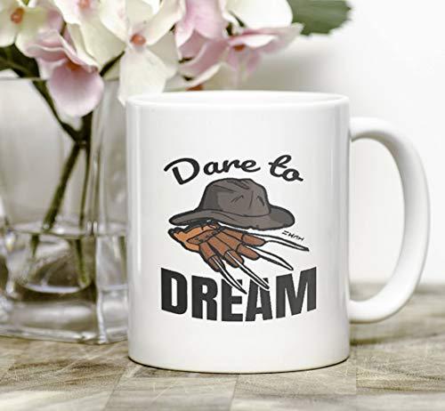 Nightmare Halloween Horror Movie Fan Gift, Dream Mug Decor Art, Halloween Costume Claw and Hat -