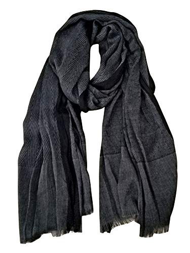 extra long cotton scarf - 7