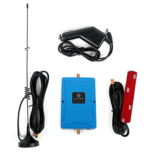ANNTLENT Dual Band 700MHz Cell Signal Booster Voice and Data Repeater Work with AT&T and Verizon 4g LTE for Car Truck and RV from ANNTLENT