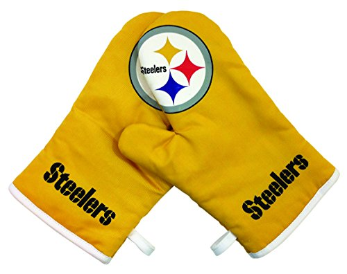 - NFL Pittsburgh Steelers Crossover Oven Mitts Kitchen Product, Full Color, One Size