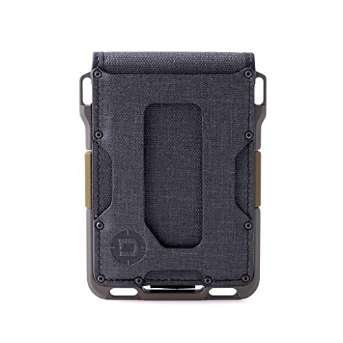 Dango M1 Maverick Spec-Ops Bifold Wallet - Black DTEX/OD Green - Made in USA