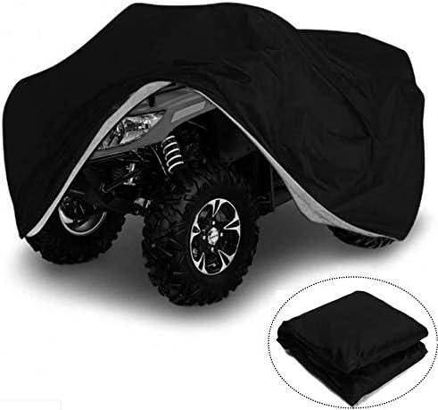 Polvo tm-home ATV y Quad para ATV Polvo o Sol Rayos UV Nieve Resistente Almacenamiento al Aire Libre Resistente al Invierno Cubierta del veh/ículo Lluvia Clima