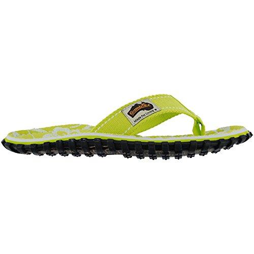 Lime Gumbies Islander Flops Flip Sandals Hibiscus Womens ZqpqPw