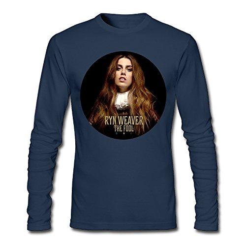SUNNYLEW Men's Ryn Weaver The Fool Long Sleeve Shirt (Ryn Fashion Men)