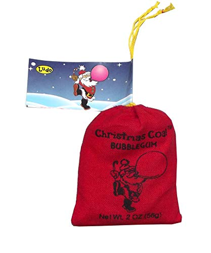 Santa's Coal Bubble Gum St. Nick's Coal-1 pouch