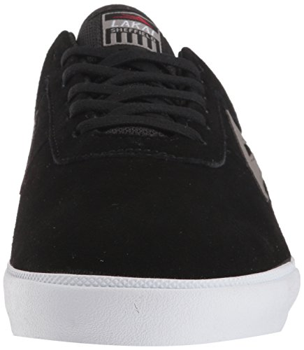 Grey Skate Shoe Sheffield Lakai Suede Black qPxIn85Cw