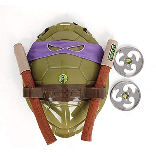 VIETXD Turtles Ninja Armor Toy Weapons Turtle Raphael Michelangelo Leonardo Figure Party Cosplay Mask Shell Weapon Props Kids- Gifts for Your Kids - Legends Gifts Movies Comic Toys -
