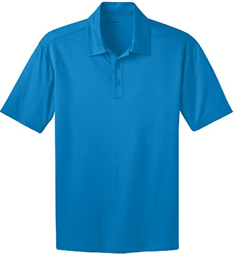 b325843b Joe's USA Men's Big & Tall Short Sleeve Moisture Wicking Silk Touch Polo  Shirt