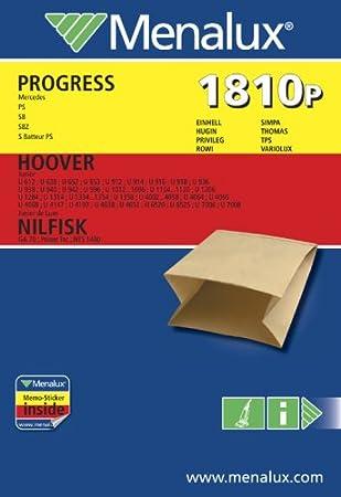 Amazon.com: Menalux 1810 P - Bolsas de papel para aspiradora ...