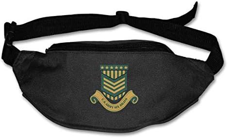 U.S ARMY SIX BRAVOユニセックスアウトドアファニーパックバッグベルトバッグスポーツウエストパック
