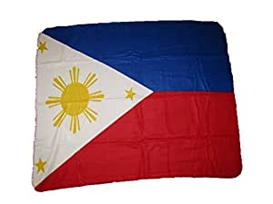 Filipinas Bandera 50x 60manta de forro polar (marca