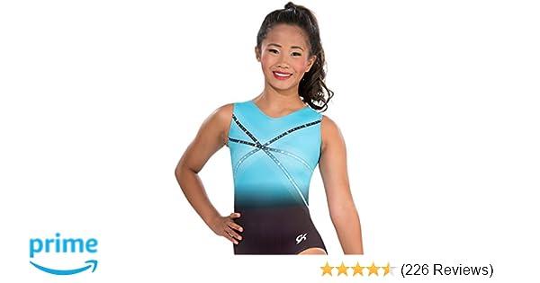 257a9e705 Amazon.com   GK Glitz   Glam Gymnastics Leotard (Blue)   Sports ...