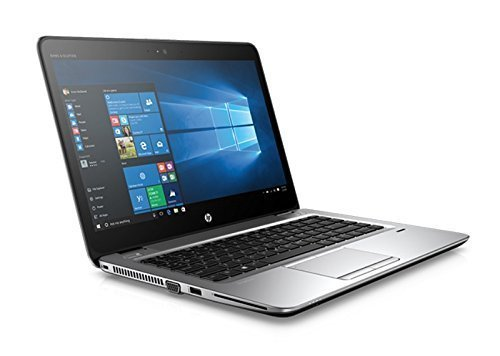 HP 2018 Elitebook 840 G1 14' HD LED-backlit anti-glare Laptop Computer, Intel Dual-Core i5-4300U up to 2.9GHz, 8GB RAM, 500GB HDD, USB 3.0, Bluetooth, Window 10 Professional (Renewed) ()