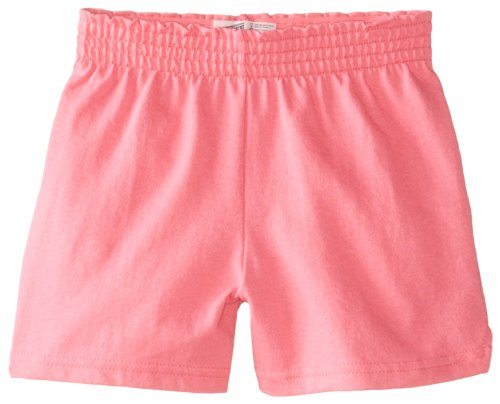 Pink Soffe Shorts (Soffe Big Girls' New Soffe Short, Neon Pink, Large)