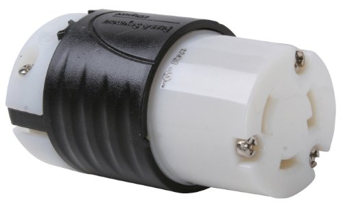 mour L530CCCV3 Industrial Specification Grade Turn Lock Connector 30-Amp 125-volt Two Pole 3 Wire (Pass & Seymour Locks)