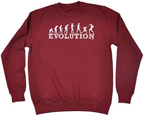 Evo Fencing Funny Novelty Sweatshirt Jumper Top