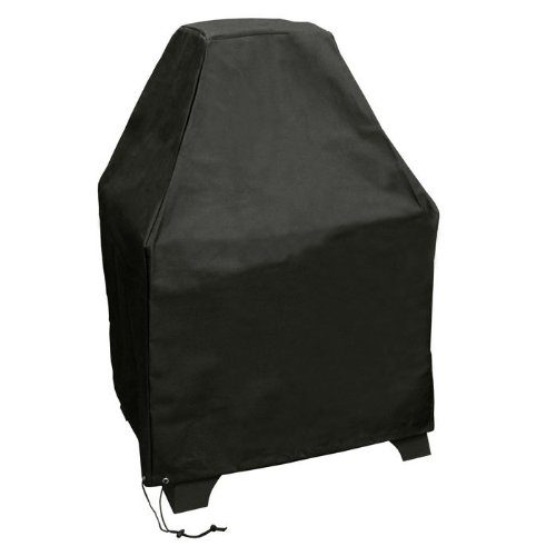 Cover Fireplace Outdoor - Landmann Redford Outdoor Fireplace Cover Black Polyester With Pvc Lining