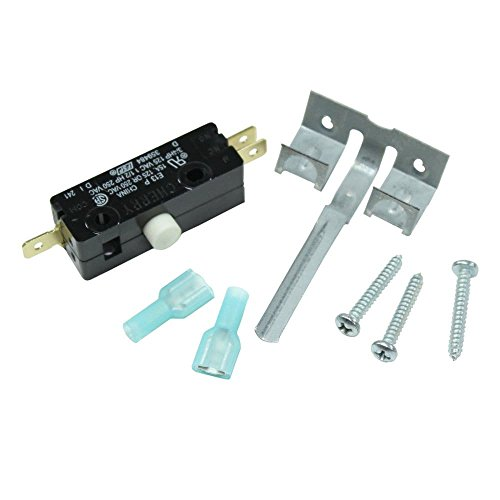 Kenmore 279782 Dryer Door Switch Genuine Original Equipment Manufacturer (OEM) part for Kenmore, Whirlpool, Kenmore Elite, Maytag, Kitchenaid, Sears Canada, Crosley, Amana, (Switch Manufacturer Part Number)