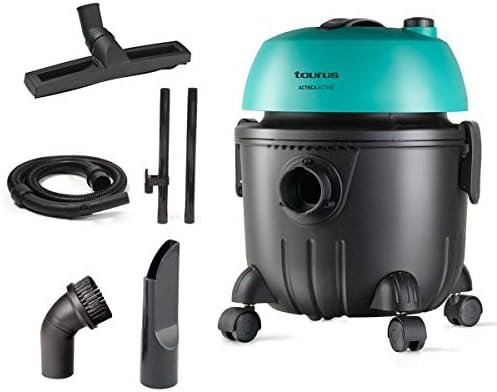 Taurus 948209000 Ateca Active Aspirateur Eau et poussière, 1400 W, Noir