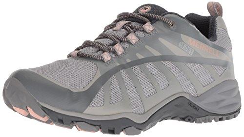 Merrell Women's Siren Edge Q2 Waterproof Sneaker, Frost, 8.5 M US