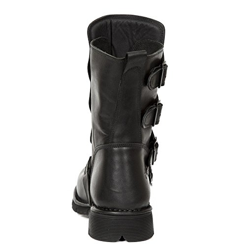 New Rock M-373x-s6, Stivali da Motociclista Unisex – Adulto Black