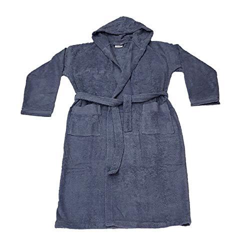 Donna Cappuccio Perla Unisex Jeans mq 380 Gr Con Borbonese M Accappatoio Spugna Uomo qTtYtv
