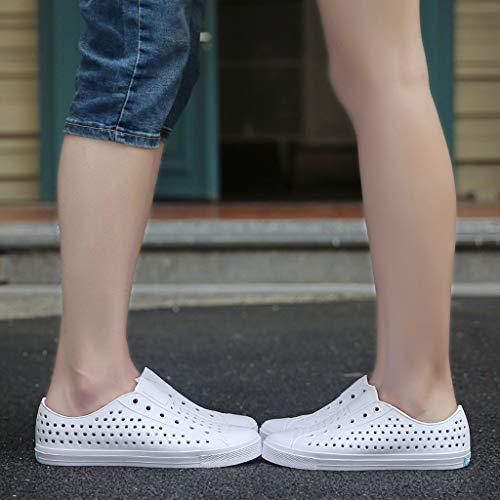 Femmes Respirant Blanche De Eté Unisexe Anti Hommes Chaussures Tongs Paolian Sabot Slip Douche IUHqn