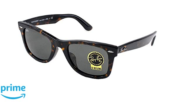 46adc304c25 Amazon.com  Ray-Ban RB2140F 902 52mm Asian Fit Wayfarers  Clothing