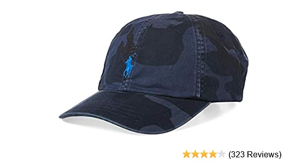 9b093aa8212 Polo Ralph Lauren Mens Twill Signature Ball Cap at Amazon Men s Clothing  store  Ralph Lauren Cap Leather