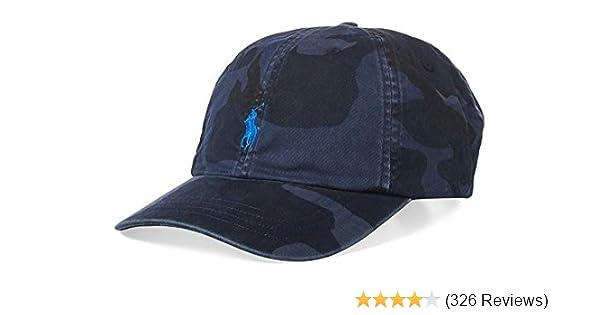 206416594f6 Polo Ralph Lauren Mens Twill Signature Ball Cap at Amazon Men s Clothing  store  Ralph Lauren Cap Leather