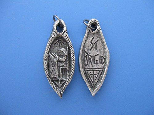St. Brigid: Patron of Students and Ireland, Handmade Medal
