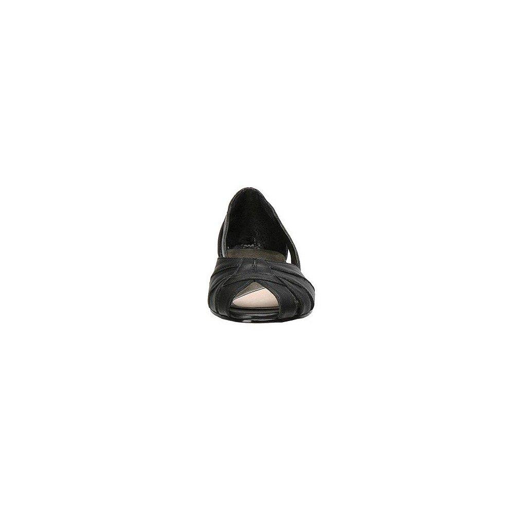 Mark Lemp Classics Womens Zuzu Peep Toe Ballet US|Black Flats B0012TA4L8 5.5 M US|Black Ballet 0159d1