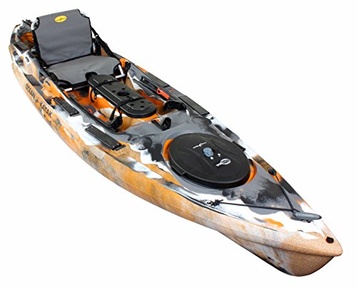 Ocean Kayak 2018 Prowler Big Game II Angler Fishing Kayak Orange Camo