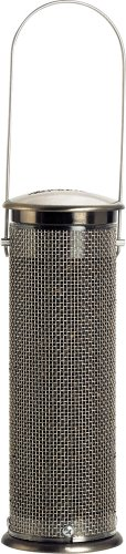 Aspects Feeder Finch (Aspects 371 Thistle Mesh Feeder, Brushed Nickel - Small)