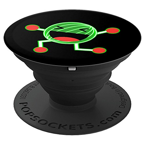 Dancing Watermelon Neon Glow Flowering Fruit Lover Pun Humor - PopSockets Grip and Stand for Phones and Tablets