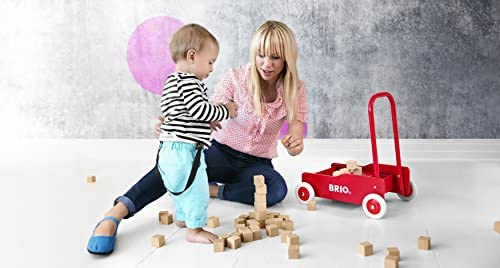 41AeHSz7TFL. AC - BRIO 31350 - Toddler Wobbler   The Perfect Toy For Newly Mobile Toddlers For Kids Ages 9 Months And Up