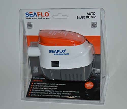- Seaflo 12v 750 GPH Automatic Bilge Pump