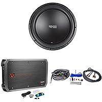 RE Audio SXX15D2 V2 SXX V2 15D2 15 1200W Sub Subwoofer+Mono Amplifier+Amp Kit