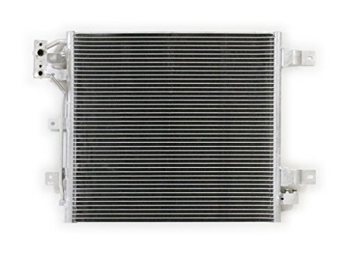 A/c Jeep Condenser Wrangler (A-C Condenser - Pacific Best Inc For/Fit 4239 12-16 Jeep Wrangler w/o Receiver & Drier)