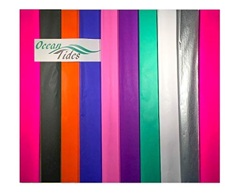 - Tissue Paper Gift Wrap Bulk All Colors Wrapping 100 200 300 or 500 Sheets 15 x 20 Assorted Black Blue Fuchsia Gold Green Orange Pink Purple Red Silver White Yellow (Assorted, 500 Sheets)