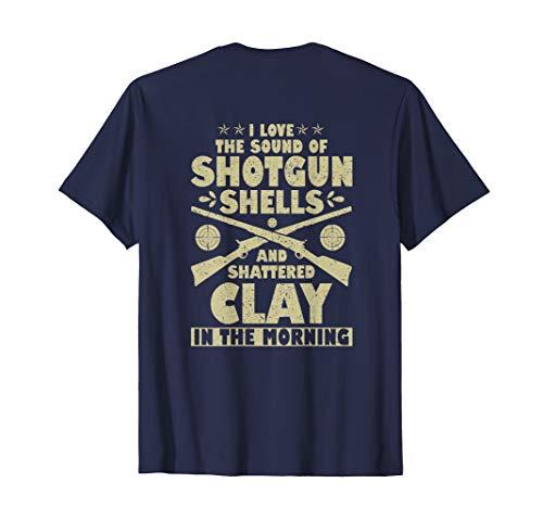 Trap Shooter T-Shirt Skeet Shooting - Design on Back