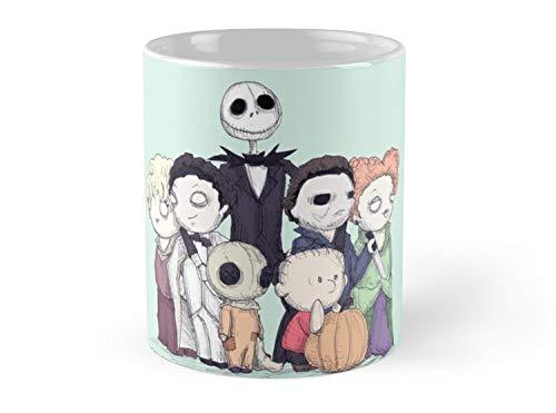 Hued Mia Mug Halloweenies - 11oz Mug - Features wraparound prints - Dishwasher safe - Made from Ceramic - Best gift for family friends -