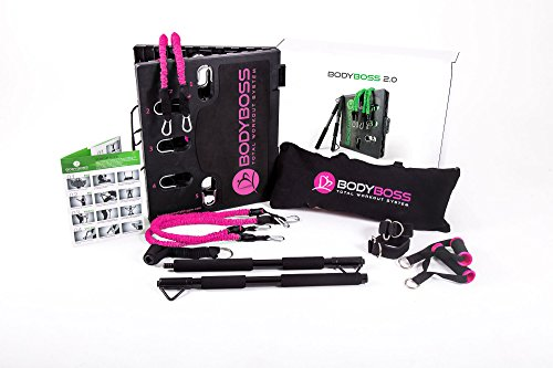 BodyBoss Home Gym 2.0 - Full Portable Gym Home Workout Packa